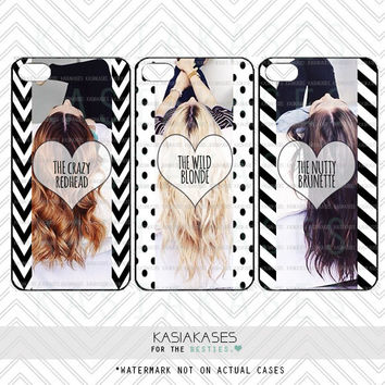 3 best friends phone cases blonde from kasiakases on etsy