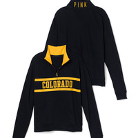University of Colorado Boyfriend Half Zip