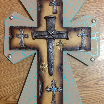 Luck of the Irish SALE Faith Cross Decor