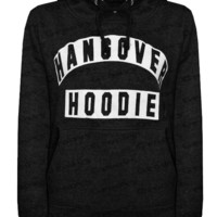 Long-Sleeved Letters Printed Hooded Sweater