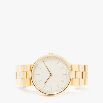 Uniform Wares / M35 Gold Bracelet Watch
