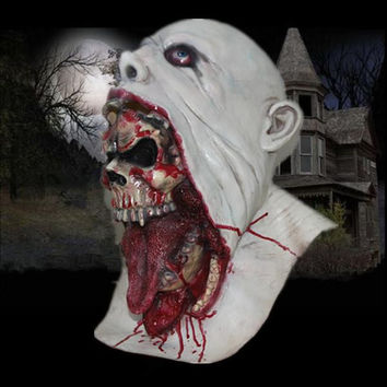 Parasite Zombie Mask - Scary Mask With Blood - Horror Halloween Mask Latex Mask