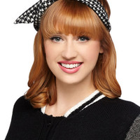 Through the Wire Headband in Houndstooth | Mod Retro Vintage Hair Accessories | ModCloth.com