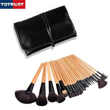 Professional Women lash comb Brush Lip Eyeshadow Eyeliner kabuki Artis Contour Blush Mascara kabuki Makeup Brushes Tool Set
