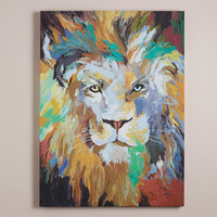 """Safari Lion"" by Frank Parson - World Market"