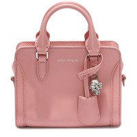 Alexander McQueen Mini Padlock Cross Body Satchel | Harrods.com