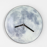 Urban Outfitters - Glow-In-The-Dark Moon Clock