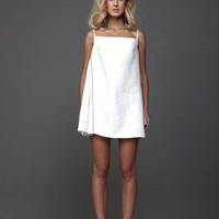 Sporty Linen Mini Dress