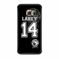 Teen Wolf Isaac Lahey Lacrosse Jersey Black Samsung Galaxy S6 Edge Case