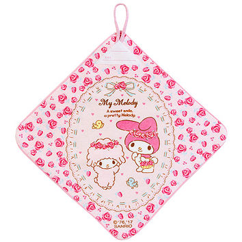 Buy Sanrio My Melody Rose Face Towel with Hanging Loop at ARTBOX
