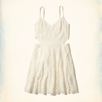 Girls Cutout Lace Skater Dress | Girls New Arrivals | HollisterCo.com