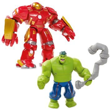 Disney Hulkbuster Deluxe Action Figure Set - Marvel Toybox New with Box