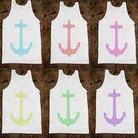 Spring Anchors  Available in Sky Meadow Sun by IanLayneDesigns