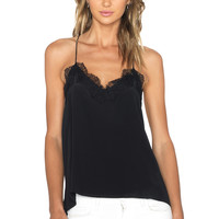 CAMI NYC The Racer Cami in Black