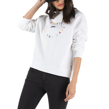 Confetti Crew Sweatshirt | Shop Womens Sweatshirts At Vans