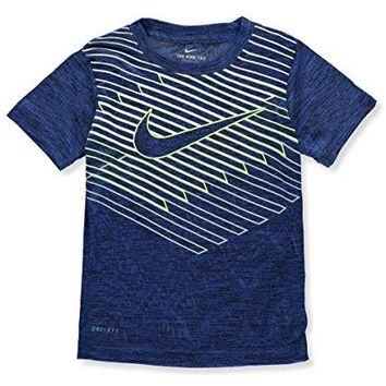 NIKE Boys' Dri-Fit Performance T-Shirt - Hyper Royal, 5