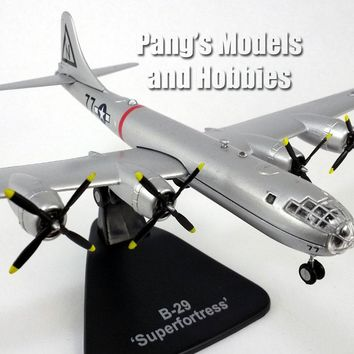 Boeing B-29 Superfortress Bockscar USAAF Bomber - 1/144 Scale Diecast Model 1/144 Scale Diecast Model by Atlas