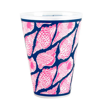 Lilly Pulitzer Tumbler Set of 8 - Cute As Shell
