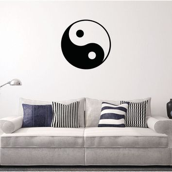 Ying Yang Wall Decal