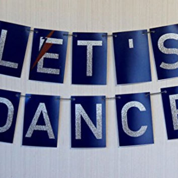 "Home Decor or Party Banner David Bowie ""Let's Dance"""