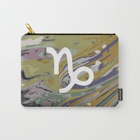 Capricorn Carry-All Pouch by KJ Designs