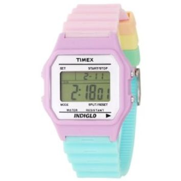 Timex Women's T2N486 Classic Multicolor Resin Strap Watch: Amazon.ca: Watches