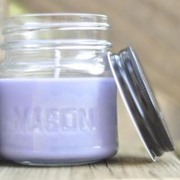 Sweet Pea And Vanilla Soy Candle 8 Ounce Jar, Great Way To Spice Up Your Home For Spring.