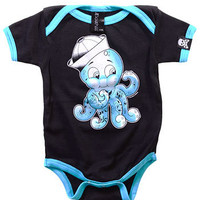 Inked Octo Baby Onesuit