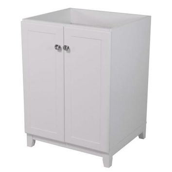 White Bathroom Vanity Cabinet 30 x 21 inch - Top Not Included