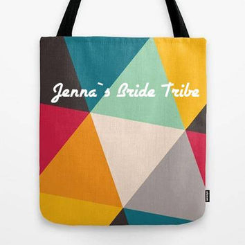Customized Tote bag, Personalized gift, Bridesmaid tote, Baby shower tote, Welcome baby, Bridesmaid set, Briesmaid gift, Custom tote bag