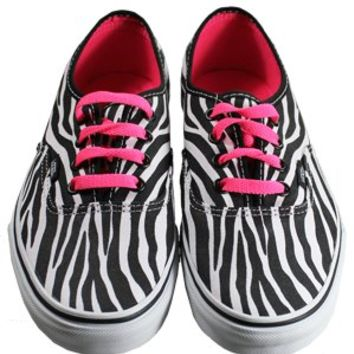Vans Authentic Zebra True White Trainers - Buy Online at Grindstore.com