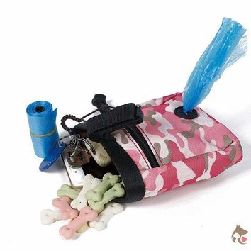 Treat Bag for Training with Potty Bag Dispenser