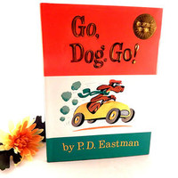 Go Dog Go Children's Book by P.D. Eastman Classic I Can Read it All By Myself Beginning Books 1989