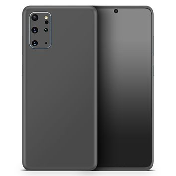 Solid Dark Gray - Skin-Kit for the Samsung Galaxy S-Series S20, S20 Plus, S20 Ultra , S10 & others (All Galaxy Devices Available)