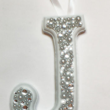 decorative letter, bejeweled letter, gemstone letter, wedding topper, princess letter, princess decoration