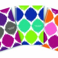 Five Star Style Spiral Notebook, 2 Subject, College Ruled, 6 in. x 9.5 in., Color May Vary (08236)