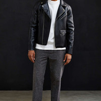 UO Faux Leather Moto Jacket - Urban Outfitters
