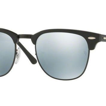 Ray-Ban RB3016 CLUBMASTER 122930 Black Sunglasses