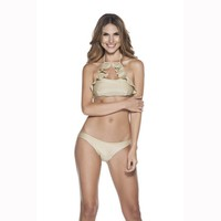 Ondademar Every Day High Neck Women's Bikini Set