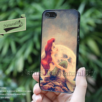 The Little Mermaid  Resin Phone cases, iPhone 5S case, iphone 5 /5C Case, Samsung Galaxy S3 S4,Galaxy S5 Case, Note 2 Note 3 Case-51397