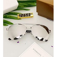 GUCCI Popular Ladies Man Sun Shades Eyeglasses Glasses Sunglasses Silver I-A-SDYJ