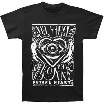 All Time Low Men's  Psych Slim Fit T-shirt Black