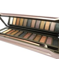 Beauty A Day Dollaya 2014 Makeup Neutral Nude Naked Eyeshadow Palette 12 Color