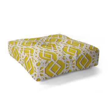 Aimee St Hill Diamonds Floor Pillow Square