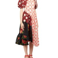 Floral Patchwork Dress by Simone Rocha