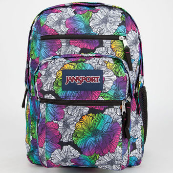 Jansport Big Student Backpack Multi Ombre Floral One Size For Men 23732095701
