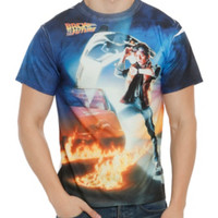 Back To The Future Poster Sublimation T-Shirt