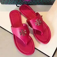 Tory Burch Women Fashion Slipper Sandals Shoes