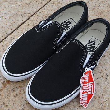 vans slip on old school