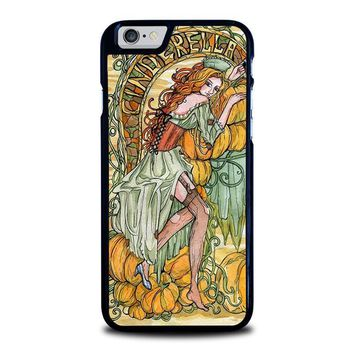 cinderella art disney iphone 6 6s case cover  number 1